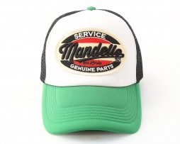 mandello-green-black-cap