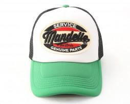 mandello-green-black-cap
