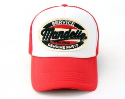 mandello-red-white-cap