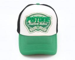 pistone-green-black-cap